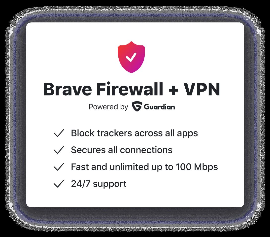 Brave Firewall + VPN | Brave Browser