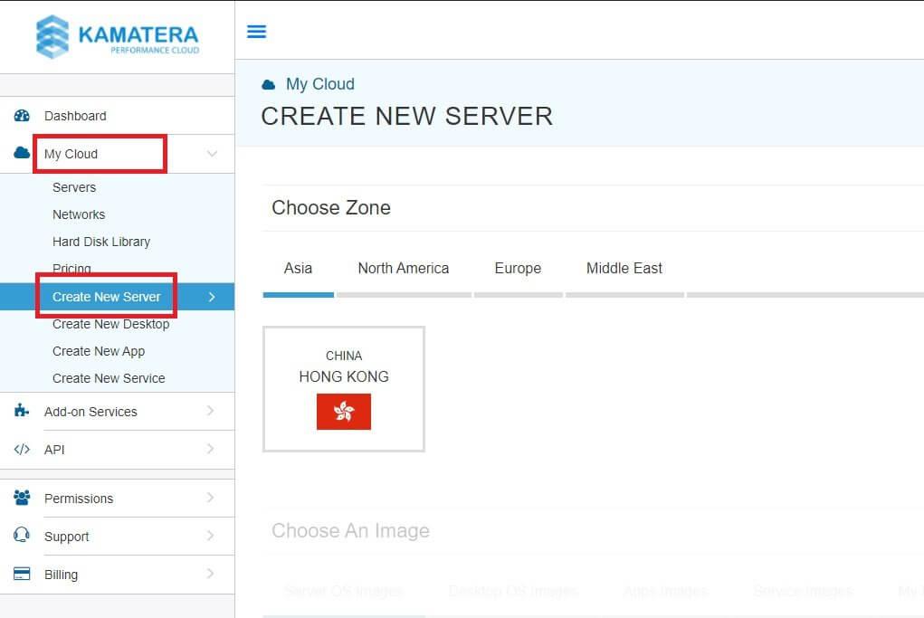 Kamatera Cloud Server