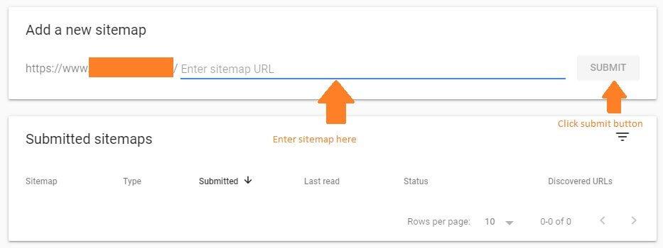 Sitemap Google Console WordPress