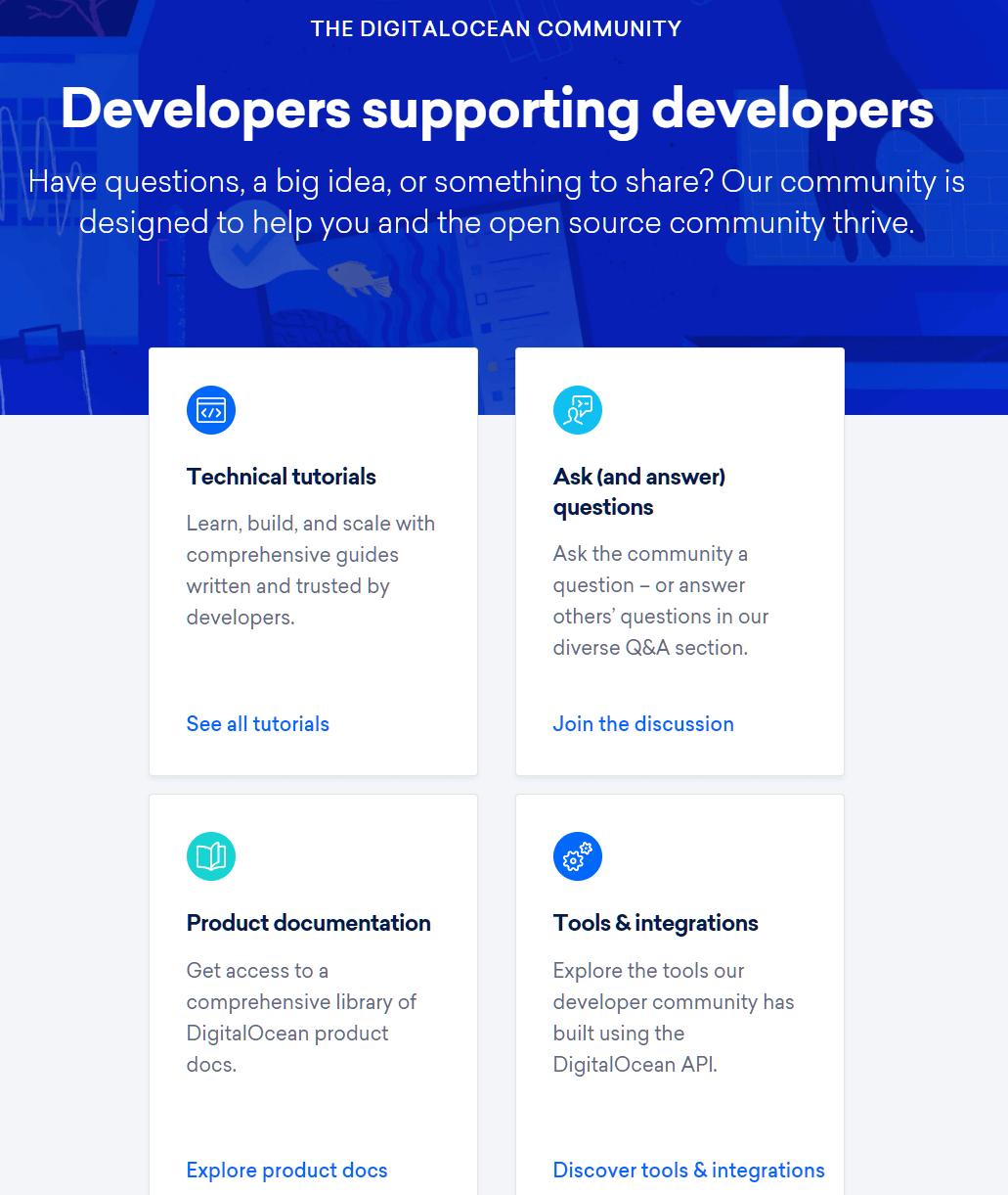 DigitalOcean Community